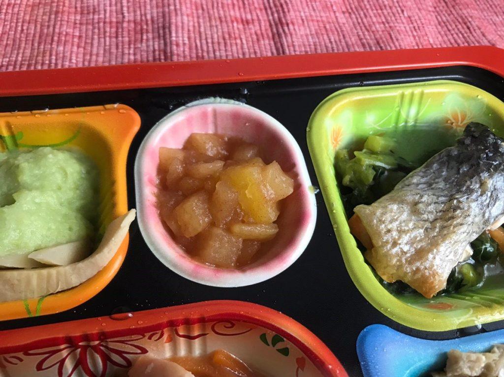 薩摩芋とりんごの甘煮