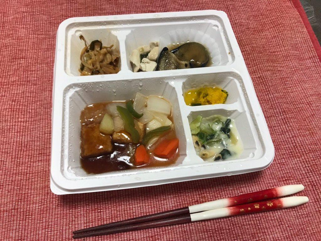 厚揚げ酢豚風調理済1