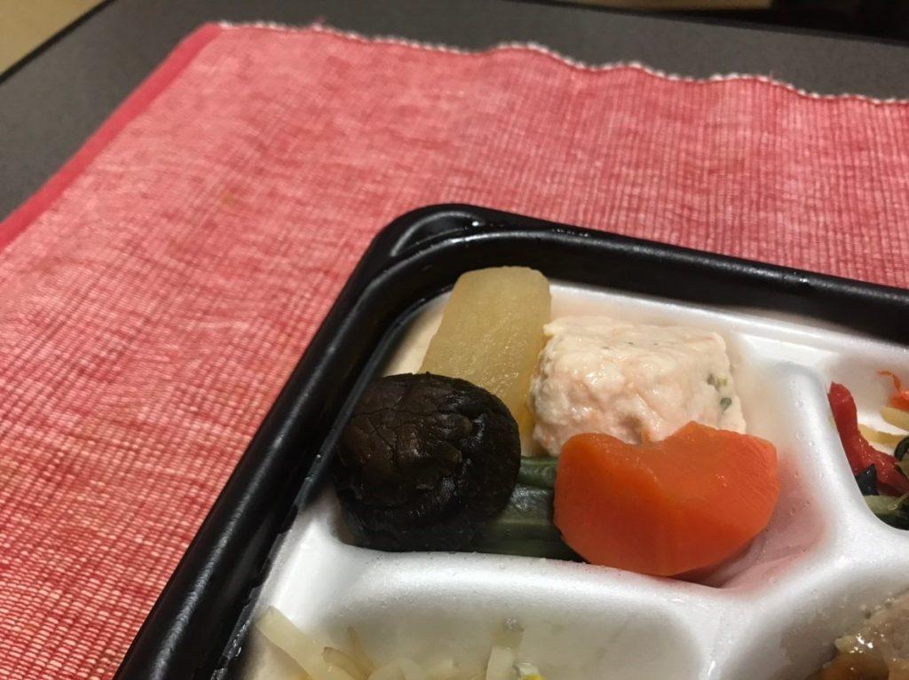 えびしんじょと野菜の炊き合わせ