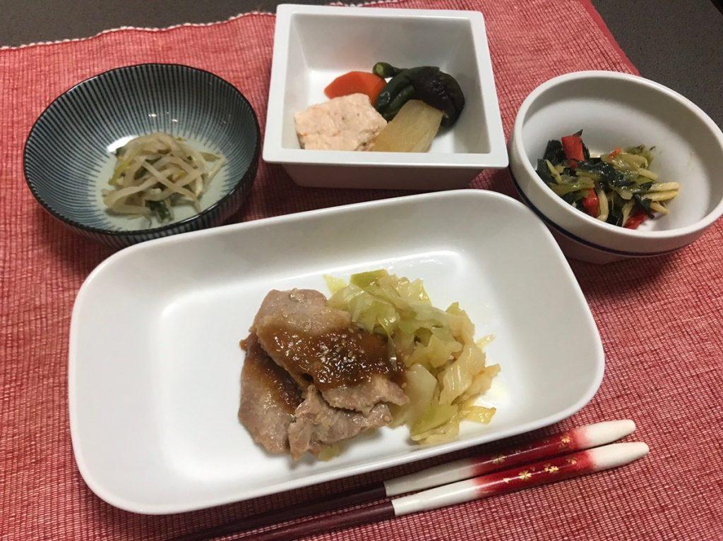 健康バランス総菜皿盛1