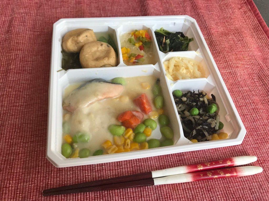 鮭のクリーム煮調理済