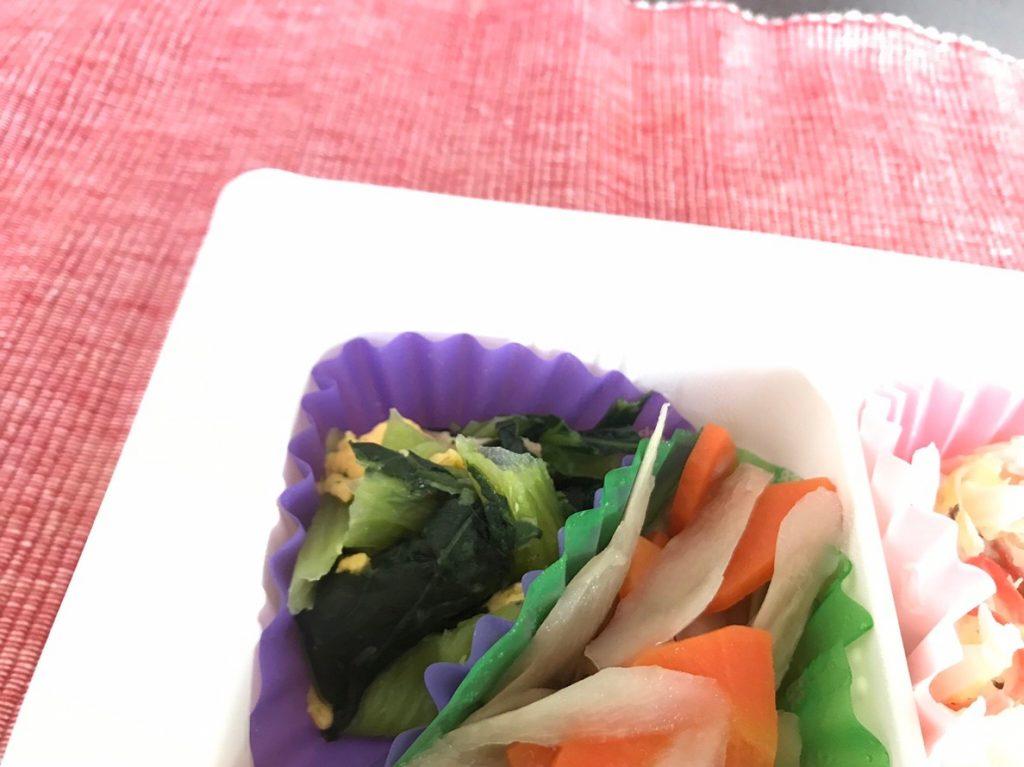 チンゲン菜炒め2
