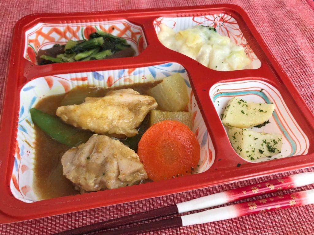 鶏肉カレー煮調理済5